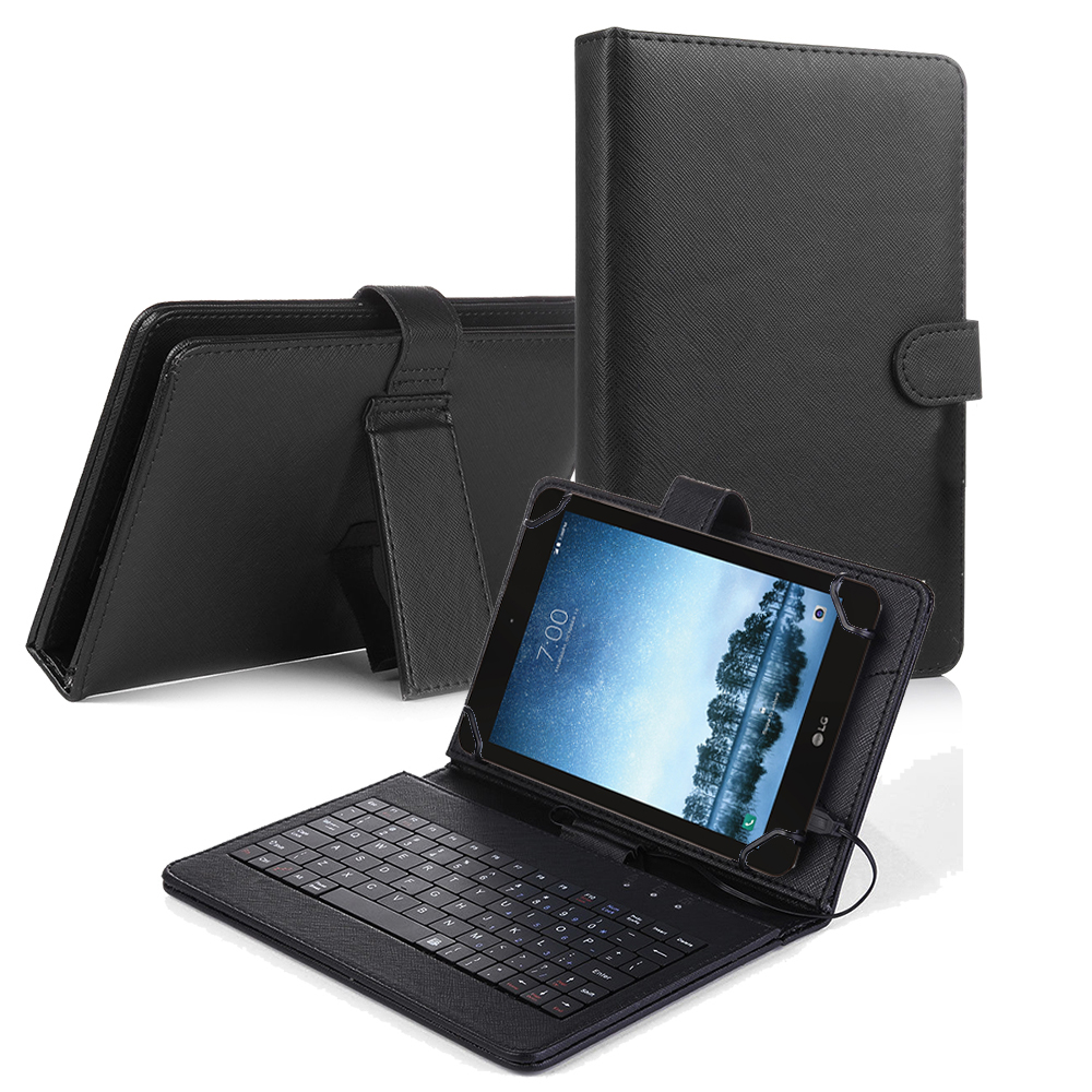 LG G Pad F2 8.0 Sprint (LK460)/T-Mobile LG G Pad X2 8.0 PLUS Tablet Case LG G Pad F2 8.0 / LK460 Tablet Flip PU Leather Folio Keyboard Case Stand Cover