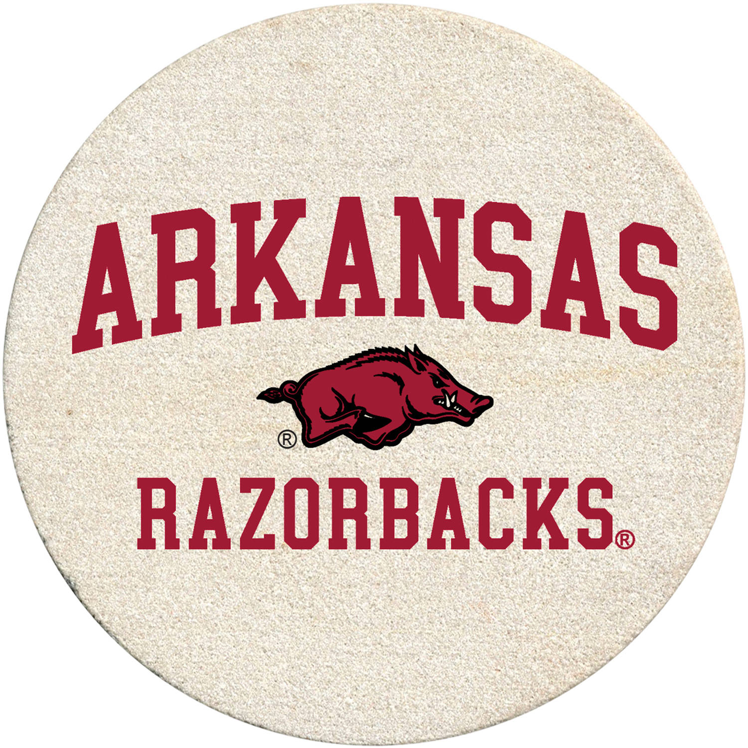 Thirstystone Drink Coaster Set, University of Arkansas