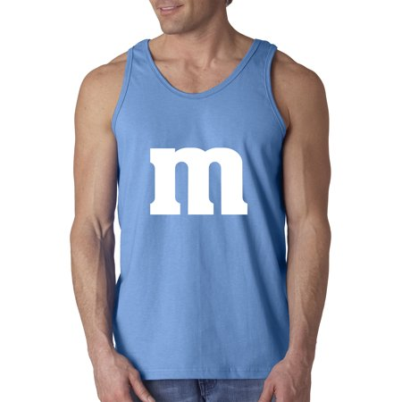0c76aaf57280b New Way - New Way 977 - Men s Tank-Top M Letter Logo Parody Funny Humor XL  Carolina Blue - Walmart.com