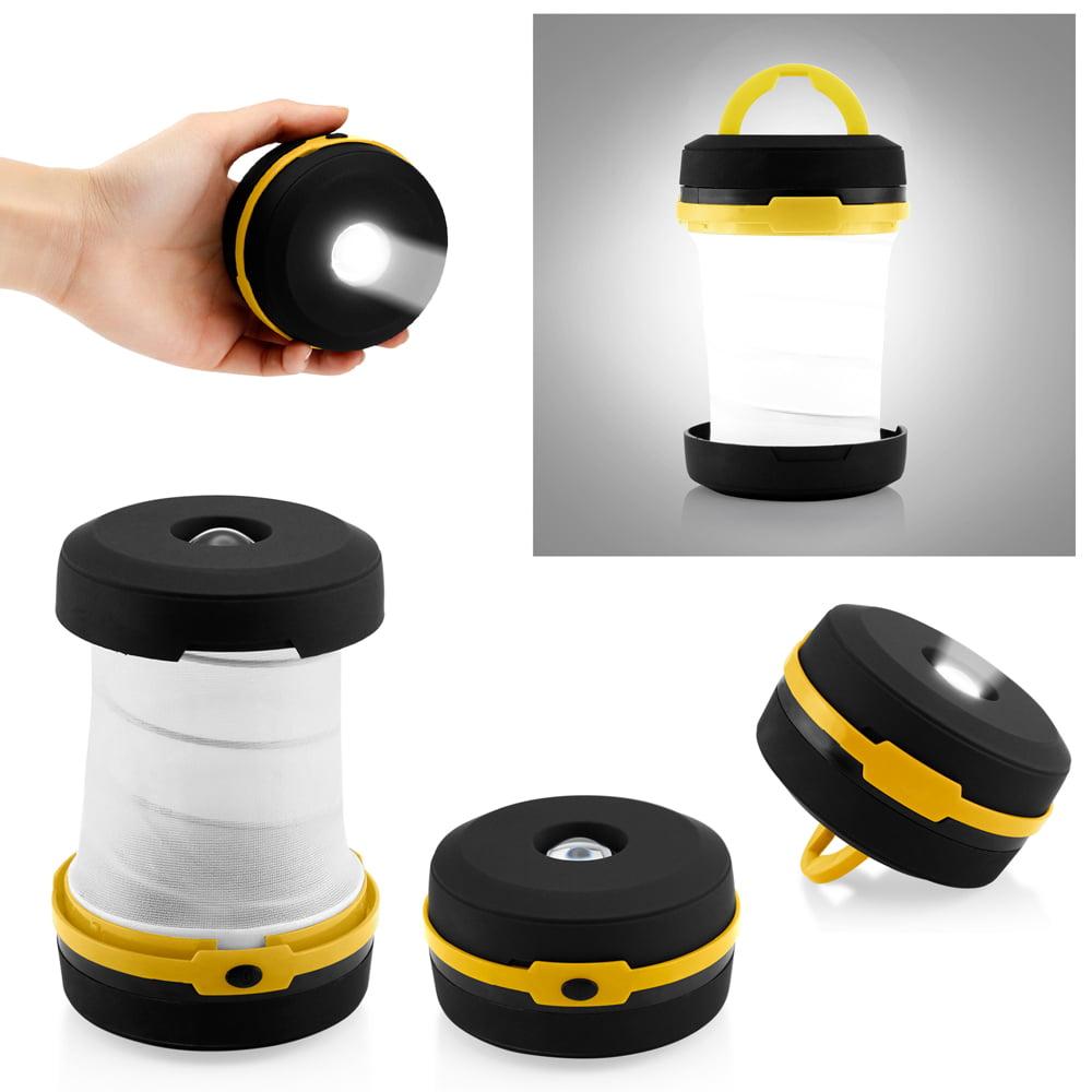 Camping Portable LED Light Foldable Collapsible Lantern Flashlight Outdoor Lamp Hiking Lantern