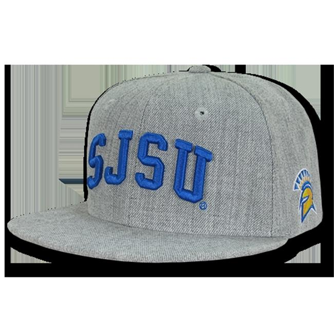W Republic Apparel 1003-173-HGY San Jose State Game Day Snapback - image 1 of 1