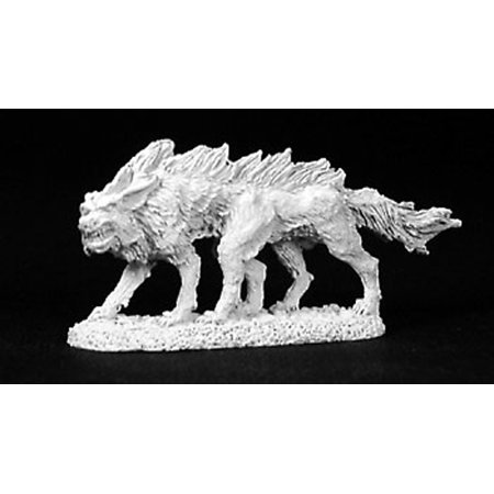 Reaper Miniatures Blood Wolf #02754 Dark Heaven Legends Unpainted Metal