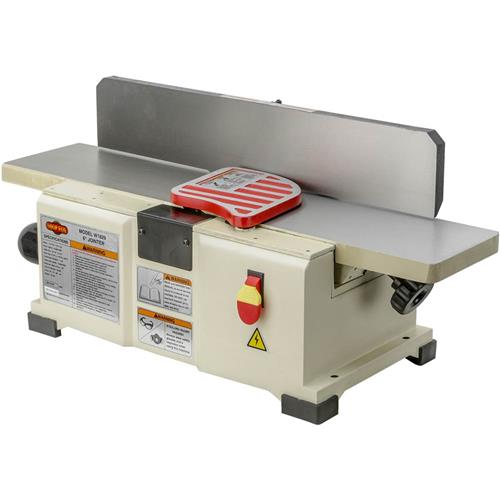 "Shop Fox W1829 6"" Benchtop Jointer 10,000 Rpm 2-Knife Cutterhead 20000 Cuts M by"