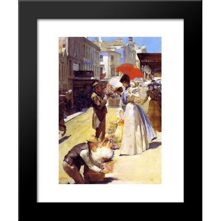 Christmas Flowers and Christmas Belles 20x24 Framed Art Print by Tom Roberts