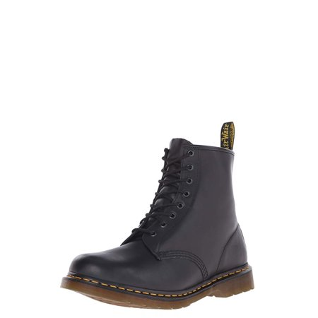 Dr. Martens Men's 1460 8-Eye (Black Nappa Polyurethane)