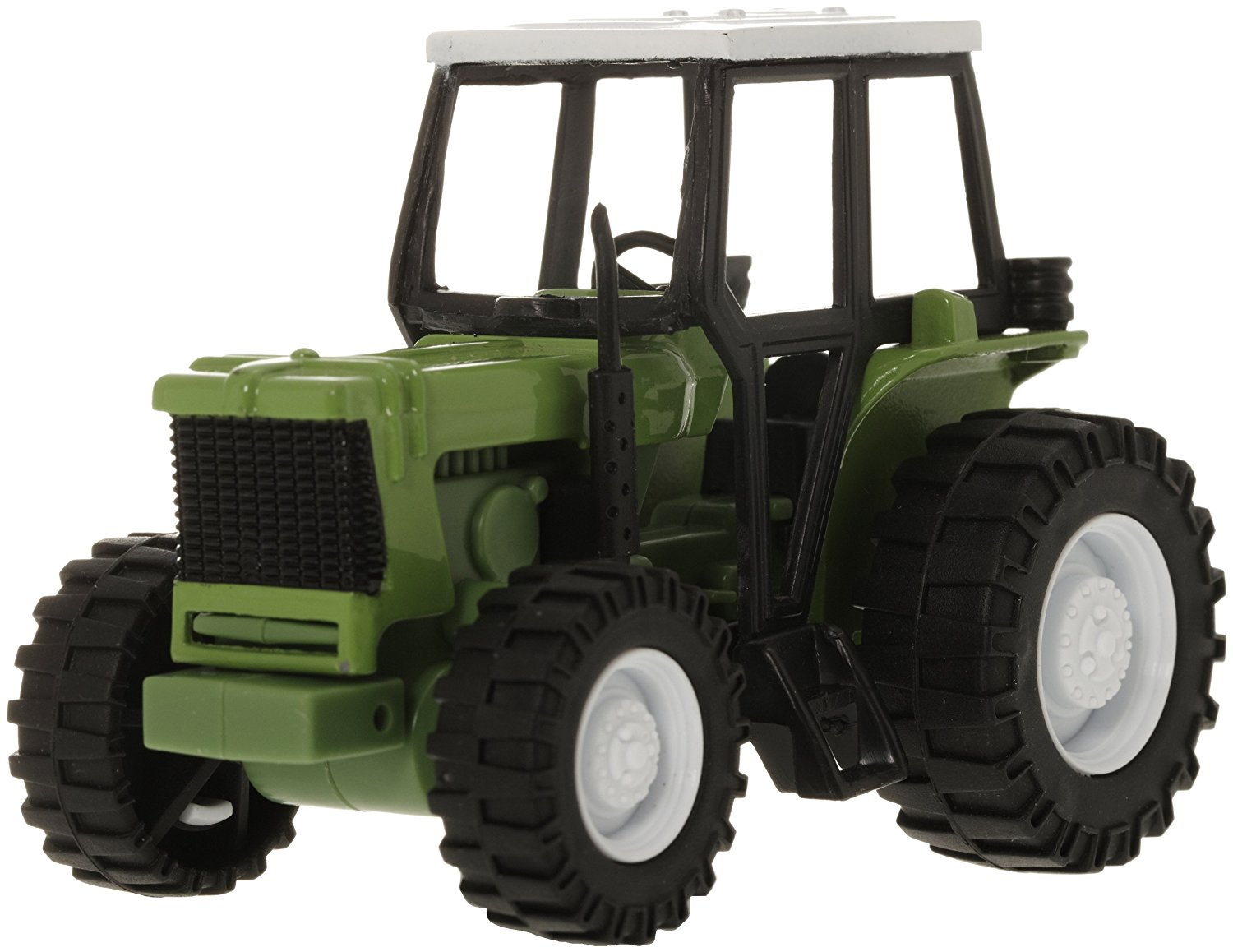 Blue Die-Cast Farm Tractor, 1:32 Scale, Die-Cast Tractor By New Ray Toys by