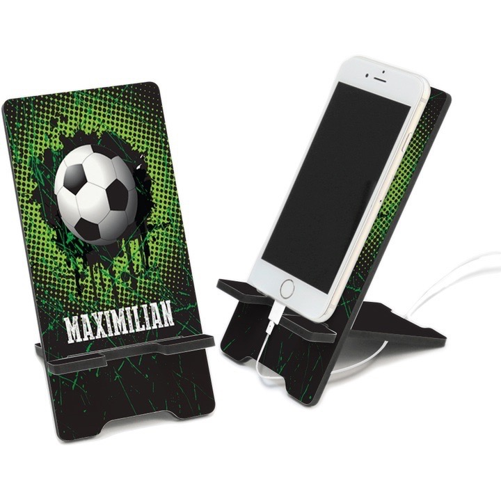 Soccer Personalized Cell Phone Stand