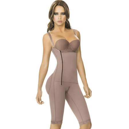 Post Surgical Compression Garments (Ann Chery 5121 BRIGITTE Post Surgical Surgery Operatory Liposuction Postpartum Body Shaper Compression Garment Girdle Post-Op MEDIUM )