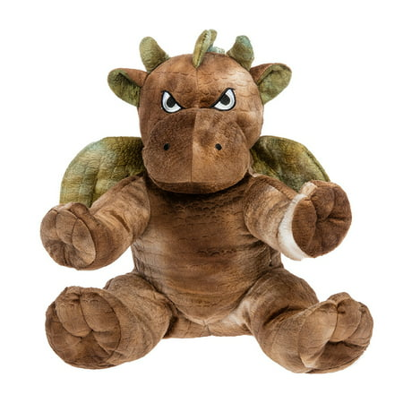 Brown Dragon (Record Your Own Plush 16 inch Brown Dragon - Ready To Love In A Few Easy)