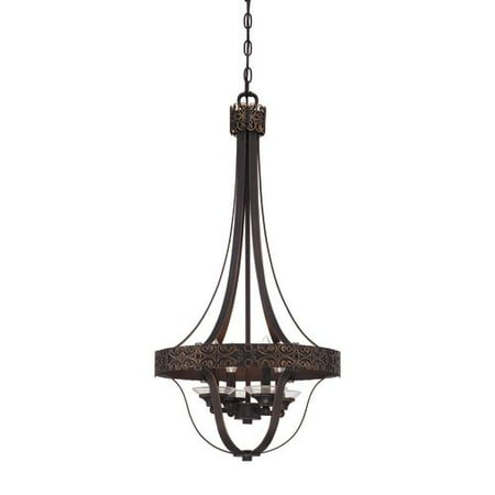 Jeremiah Lighting 36334 Amsden 4 Light Foyer Indoor Pendant 16 5 Inches Wide