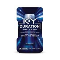 K-Y Duration Spray for Men, Last Longer, Desensitizer Delay Spray - 36 sprays, 0.16 fl oz