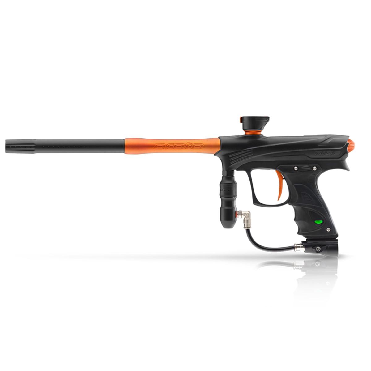 Proto Rize MaXXed Paintball Marker Black   Orange by Dye Precision