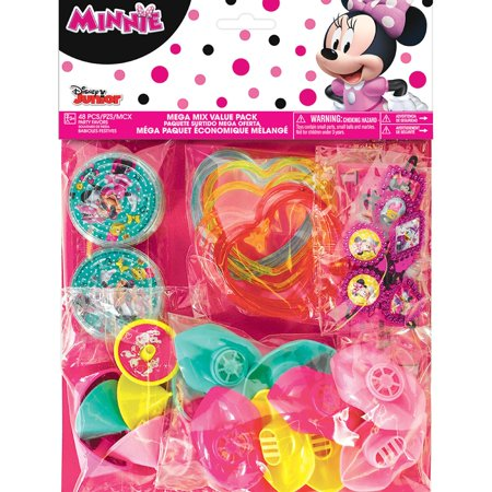 Minnie Mouse Helpers Favor (48 Count) - Minnie Mouse Party Invitations