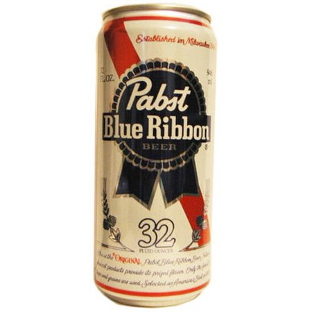 Pabst Blue Ribbon Singles, 32 fl oz