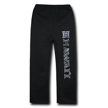 Hawaii Rainbow Warriors College Fleece Pants (Black)
