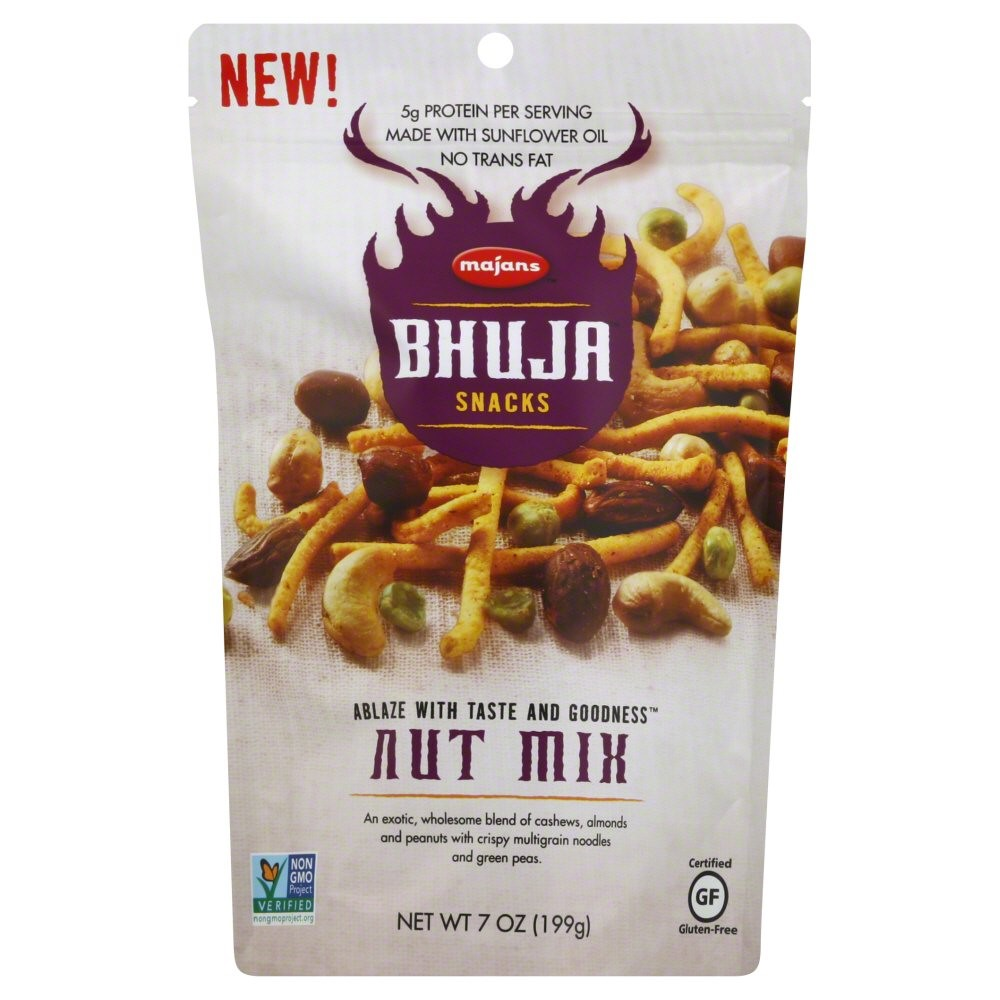BHUJA Nut Mix, 7 Ounce Bags