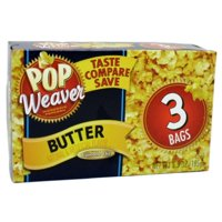 New 804309 P.W Microwave Popcorn 3Pk Bttr (12-Pack) Snacks Cheap Wholesale Discount Bulk Food And Beverages Snacks Popcorn