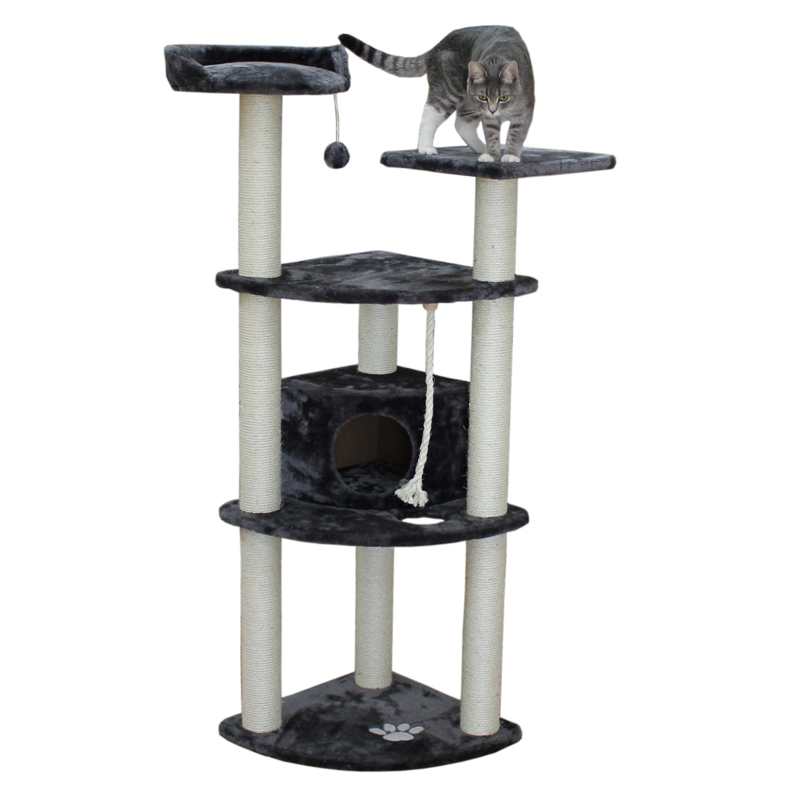 Kitty Mansions Toronto 60 in. Cat Tree