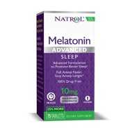 Natrol Advanced Sleep Melatonin Tablets, 10 Mg, 75 Ct