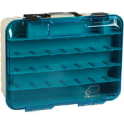 Plano Synergy Fishing Magnum Satchel, Two-Tier Tackle Box, Blue / White