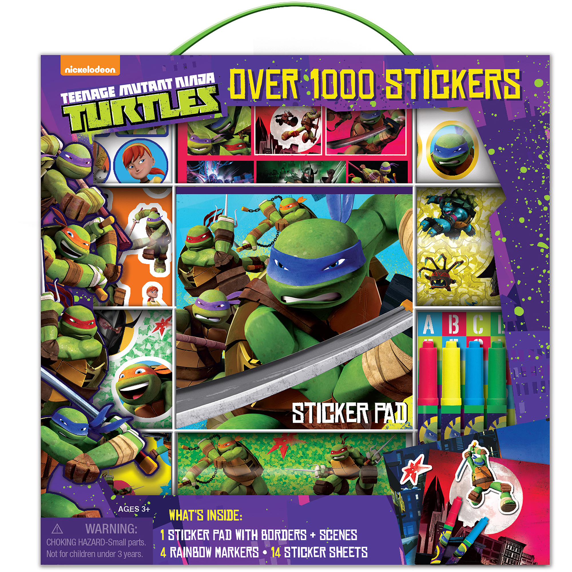 Bendon Bendon Teenage Mutant Ninja Turtles Sticker Box
