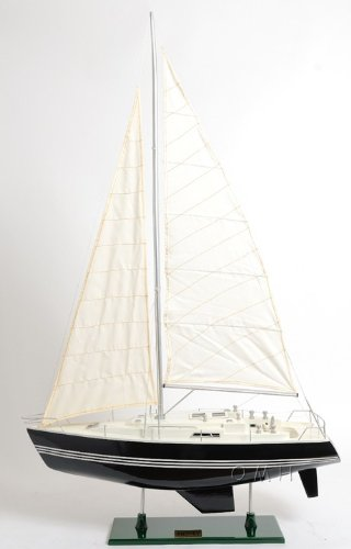 Old Modern Handicrafts Y081 Victory Yacht Painted Model Boat by Old Modern Handicraft Inc