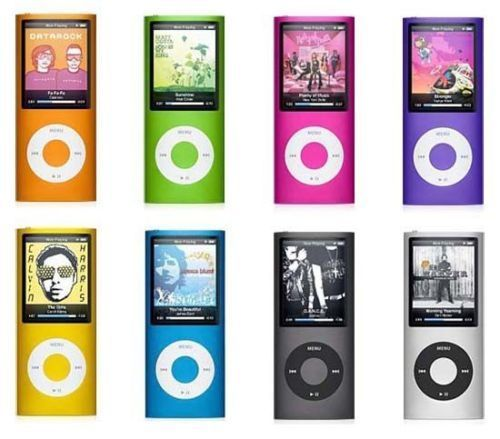 Apple iPod Nano 4th Generation MP3 Player