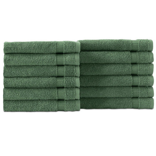 Makroteks Textile L.L.C. Cambridge Wash Cloth (Set of 12)