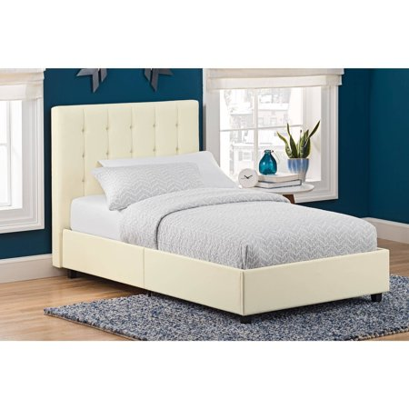 6 Dhp Emily Upholstered Bed  Faux Leather  Multiple Sizes And Colors