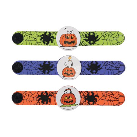 Peanuts Halloween Bracelet Craft Kit By Fun - Fun Easy Cheap Halloween Crafts