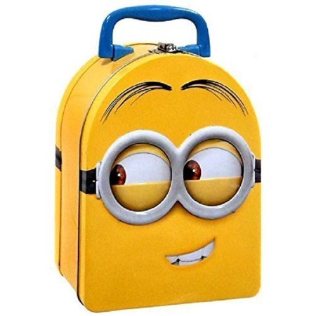 Minion Lunch Box (Despicable Me Minions Carry All Tin Stationery Lunch Box -)