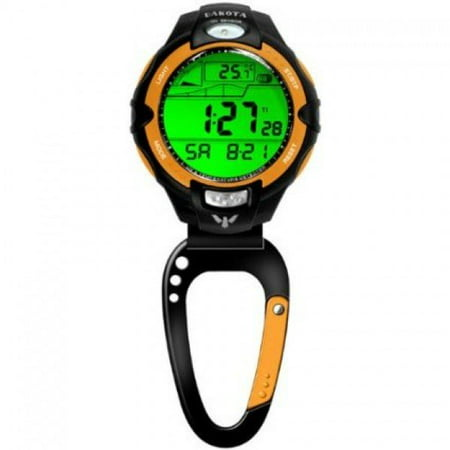 Digital Clip Watch - Multifunction, Water Resistant Digital Clip Watch