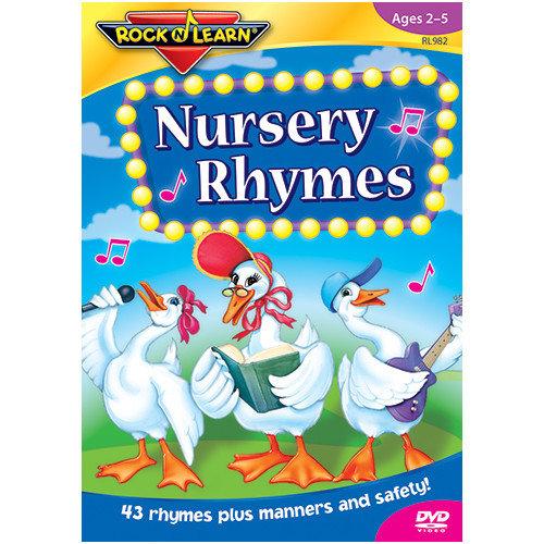 Rock N Learn Nursery Rhymes On Dvd