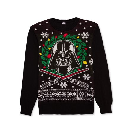 Star Wars Mens Vadar Lights Pullover Sweater](Star Wars Sweaters)
