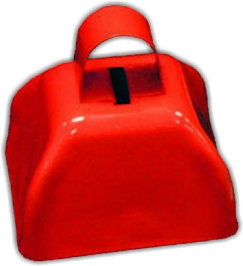 "3"" Metal Cowbell (1 dozen) Red by Rhode Island Novelty"