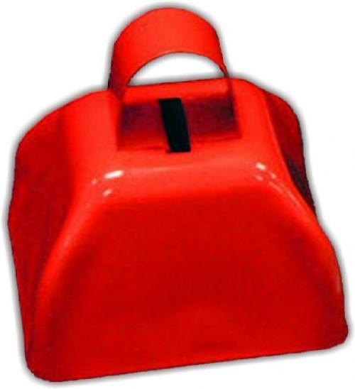 "3"" Metal Cowbell (1 dozen) - Red"