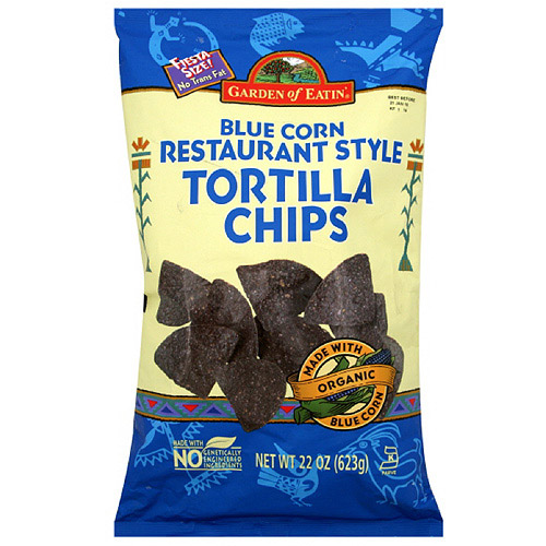 Garden Of Eatin' Restaurant Style Blue Corn Tortilla Chips, 22 oz (Pack of 10)