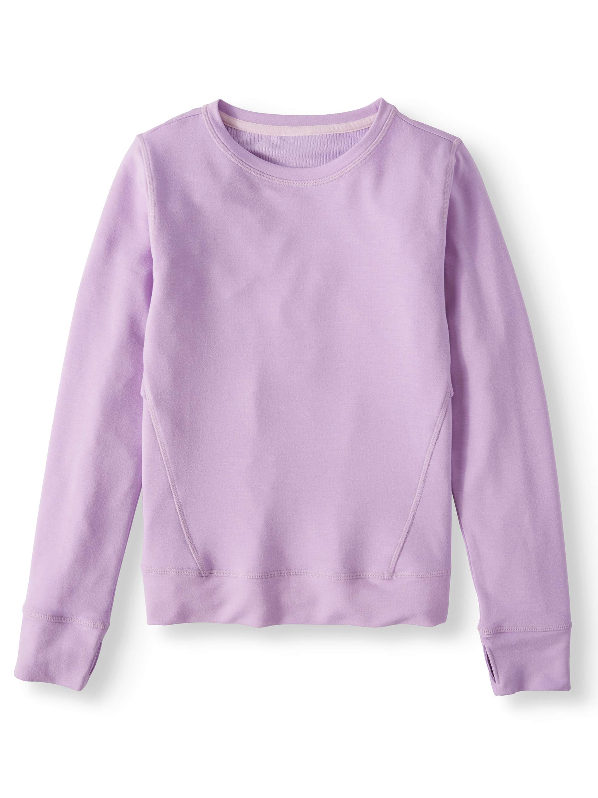 Ruffled Back Pullover Sweatshirt (Little Girls & Big Girls)