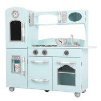 Teamson Kids - Little Chef Westchester Retro Play Kitchen, Mint