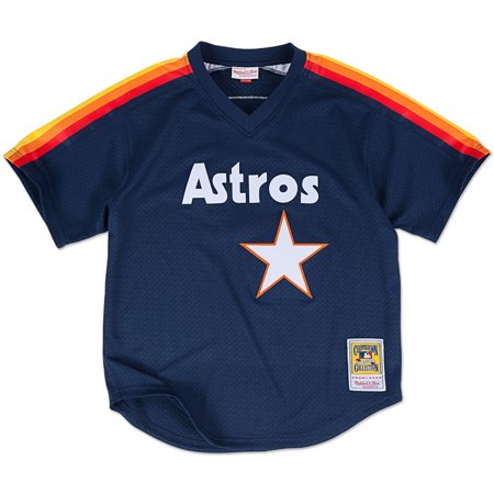 Craig Biggio Houston Astros Mitchell & Ness Authentic 1991 BP Jersey by