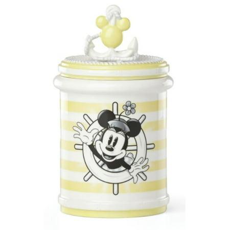 - Disney Lenox Anchors Away Minnie Mouse Treat Jar