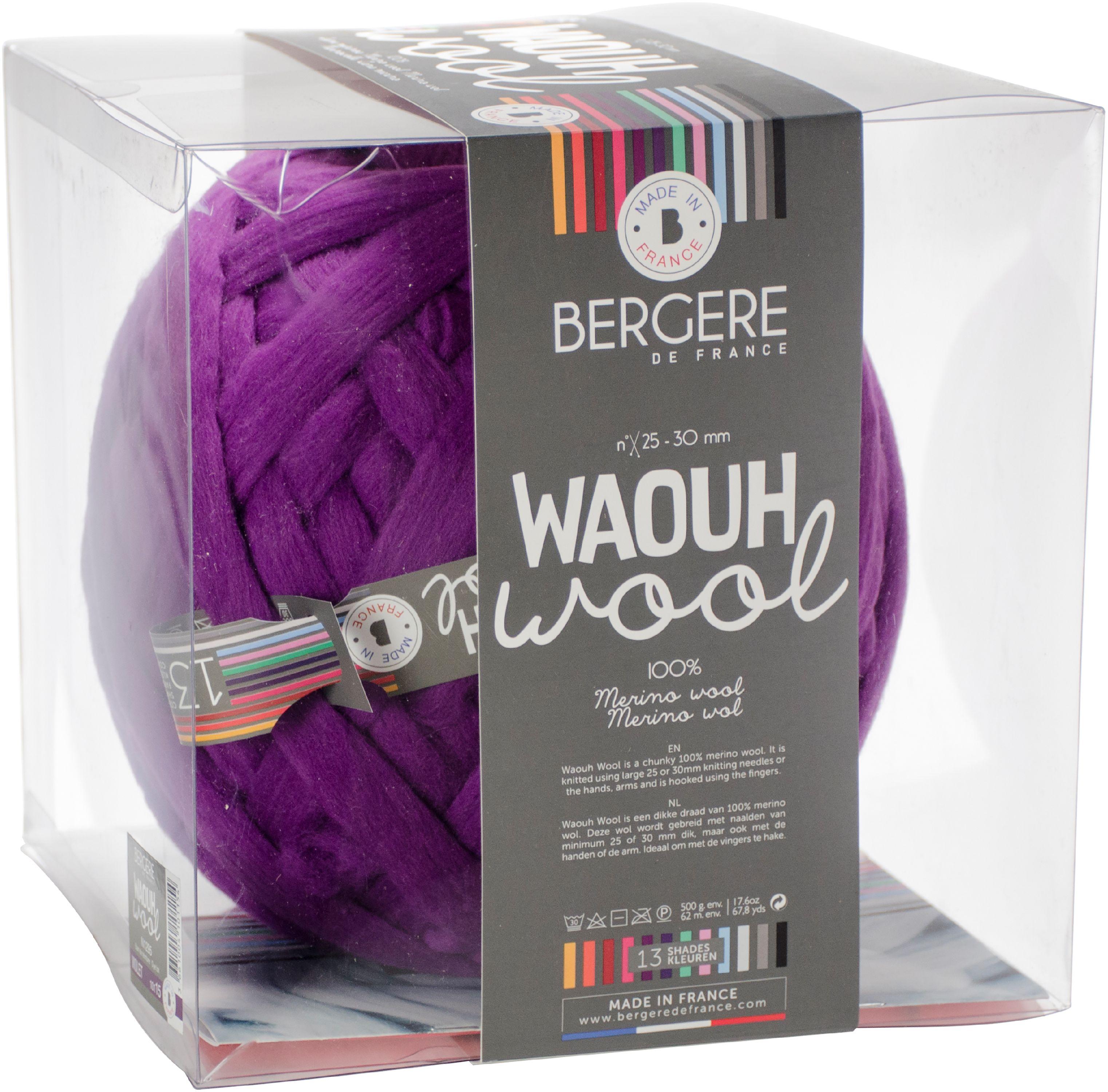 Bergere De France Waouh Yarn-Purple