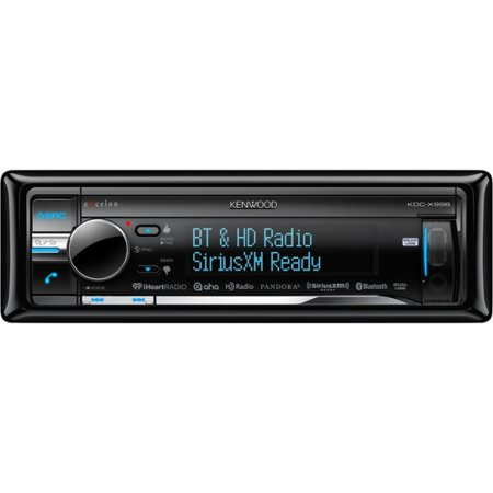 Kenwood Excelon Kdc-x998 Car Cd/mp3 Player - 88 W Rms - Ipod/iphone  Compatible - Single Din - Lcd Display - Cd-rw - Cd-da, Mp3, Wma, Aac, Wav,  M4a -