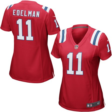 new arrival 89079 e62a7 Julian Edelman New England Patriots Nike Women's Game Jersey - Red
