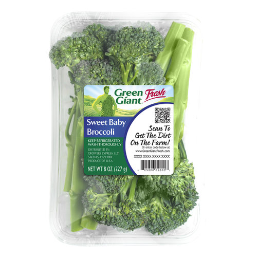 Green Giant Fresh Sweet Baby Broccoli, 8 oz