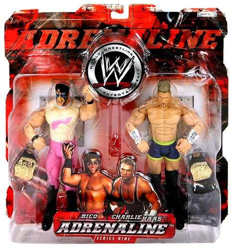 WWE Wrestling Adrenaline Series 9 Rico & Charlie Haas Action Figure 2-Pack