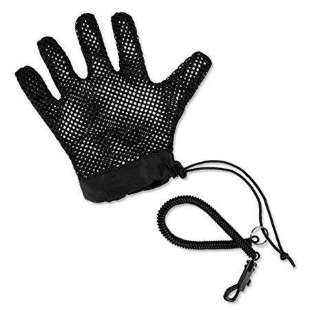 orvis fish tailer landing glove, black