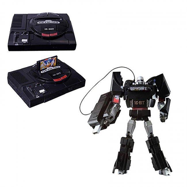 Sega TKTA-SGMT TakaraTomy Sega Genesis Megatron Transformers Figure by Sega