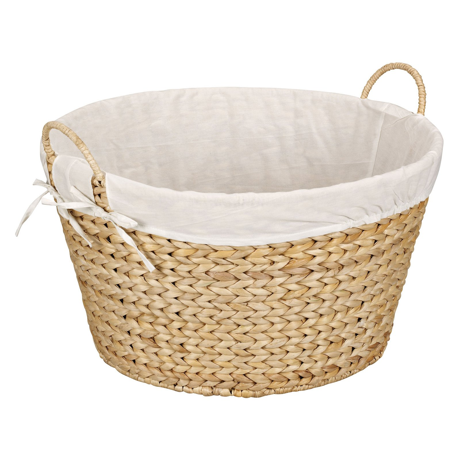 Household Essentials Banana Leaf Round Laundry Basket