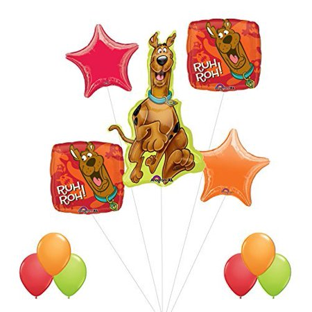 Scooby Doo Birthday Party Supplies and Balloon - Scooby Doo Pinata